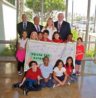 Over 500 Students Visit the Aquarium During Grand Prix Friday Thanks to SAVOR… Scholarship