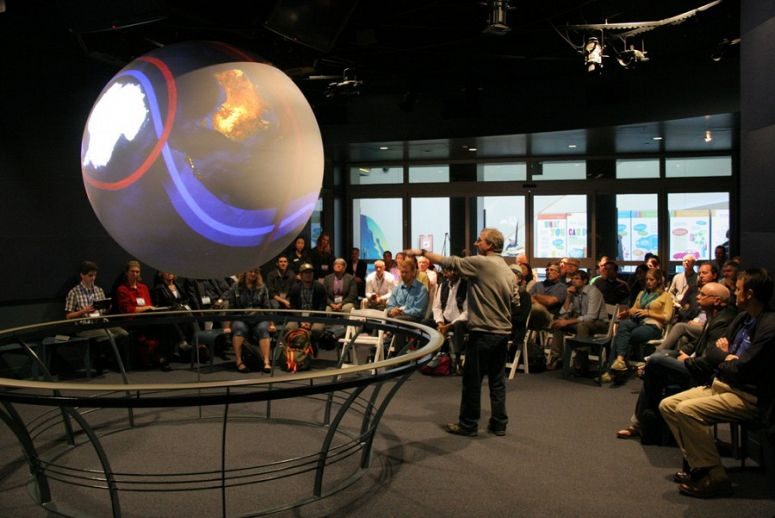 Aquarium Hosted Conference for NOAA Science on a Sphere Users