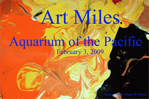 Aquarium Contributes to the Art Miles Project