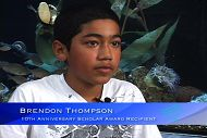January Student Scholar: Brendon Thompson