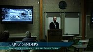 Lecture Archive: Barry Sanders
