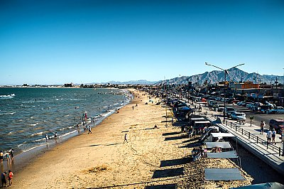 Beach at San Felipe - thumbnail