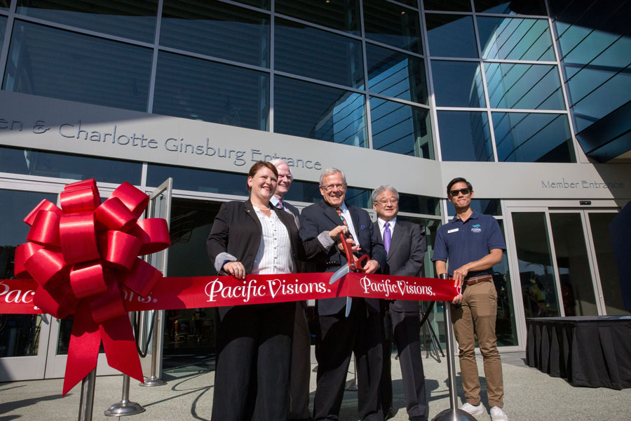 Pacific Visions Ribbon-cutting Ceremony