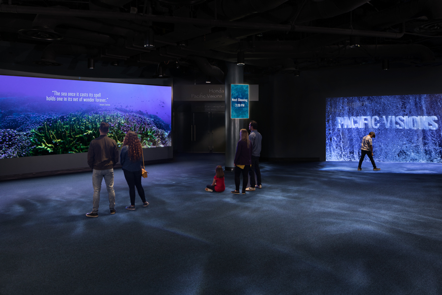 Orientation Gallery with Visitors