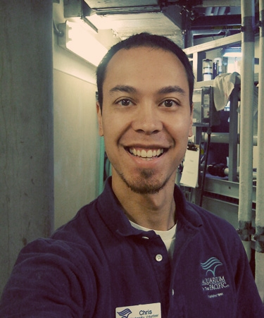 Introducing Aquarist Volunteer Chris Corpus
