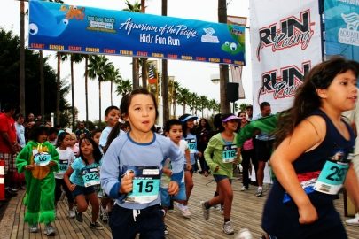 Aquarium Kids Fun Run