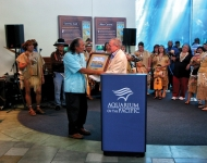 Marcus Lopez Receives Heritage Award During Moompetam Festival