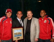 Chivas USA Presented with Aquarium's Heritage Award