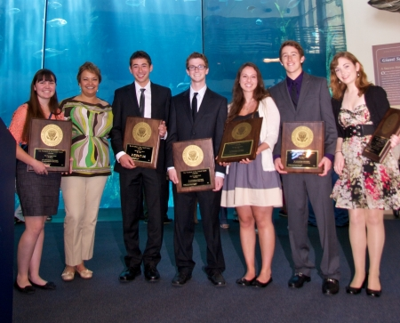 U.S. EPA Awards High School Students for Efforts to Protect Whales