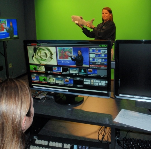 Aquarium's Educational Videoconferencing Programs Receive Recognition