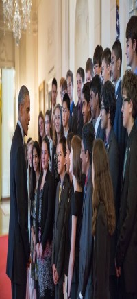 Broadcom Masters 2014 President Obama