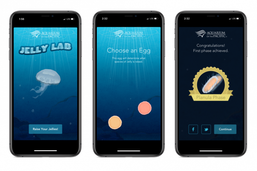 Jelly Lab Mobile App Screen Shots